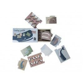 SEBRA® Puzzle mit Zahlen 1-10, Dino/Arctic Animals 3015306