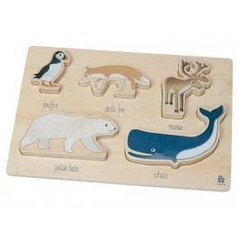 SEBRA® Holzpuzzle Arctic Animals 3015204
