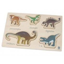 SEBRA® Holzpuzzle Dino 3015104