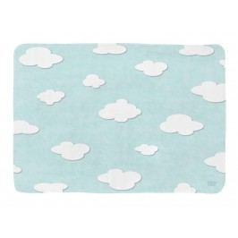 LOTTAS LABLE® Spielteppich SOFTIE Cloud Türkis/Mint 130x190cm 65055-2