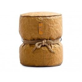 LAZY LIFE PARIS Couronnes Pouf Hocker Cognac 301-BB0103