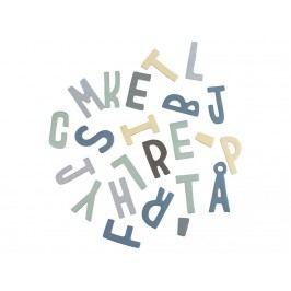 SEBRA® Magnetbuchstaben Blau 62Stk. 8010101