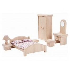 PLAN TOYS PlanToys Puppenhaus Schlafzimmer Classic 4009016
