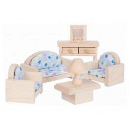 PLAN TOYS PlanToys Puppenmöbel Wohnzimmer Classic 4009015