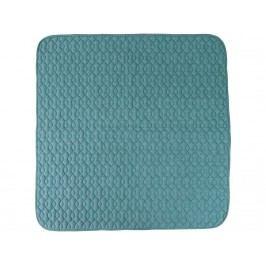 SEBRA® Spieldecke abgesteppt Wolkenblau 120x120cm 4001103