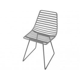 SEBRA® Me-Sit Metallstuhl Dunkelgrau Sitzhöhe 33cm 2008301