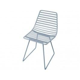 SEBRA® Me-Sit Metallstuhl Wolkenblau Sitzhöhe 33cm 2008101