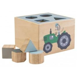 SEBRA® Formensteckspiel Farm Blau 3017101