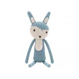 SEBRA® Häkel-Tier Kaninchen Wolkenblau Höhe 34cm 3001104
