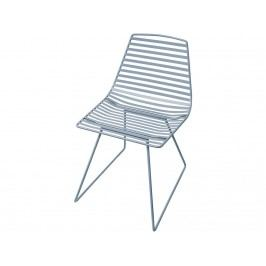 SEBRA® Me-Sit Metallstuhl Wolkenblau Sitzhöhe 48cm 2007101