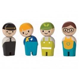 PLAN TOYS PlanToys Spielfiguren Handwerker 4006268