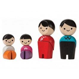 PLAN TOYS PlanToys Spielfiguren Familie Asien 4006265