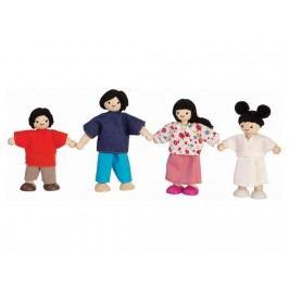 PLAN TOYS PlanToys Puppenfamilie 4-teilig 4007417