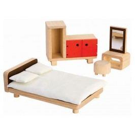 PLAN TOYS PlanToys Puppenmöbel Schlafzimmer 4007349