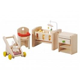 PLAN TOYS PlanToys Puppenmöbel Schlafzimmer Baby 4007329