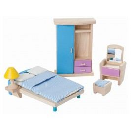 PLAN TOYS PlanToys Puppenmöbel Schlafzimmer NEO 4007309