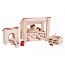 PLAN TOYS PlanToys Puppenmöbel Pferdestall 4007149