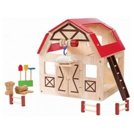 PLAN TOYS PlanToys Puppenhaus Scheune 4007147
