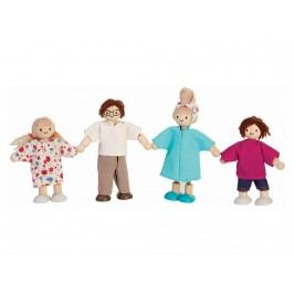 PLAN TOYS PlanToys Puppenfamilie 4-teilig 4007142