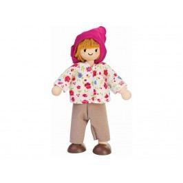 PLAN TOYS PlanToys Puppe Bäuerin Höhe 6cm 4007137