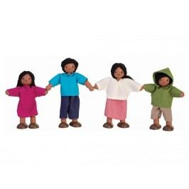 PLAN TOYS PlanToys Puppenfamilie 4-teilig 4001345