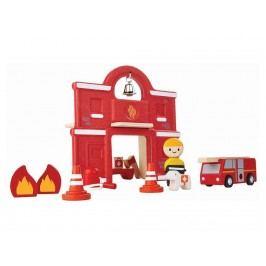 PLAN TOYS PlanToys Feuerwehr inkl. Zubehör 4006619