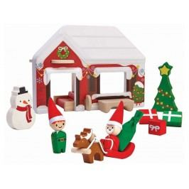 PLAN TOYS PlanToys Spielhaus Weihnachtsmann 4006622