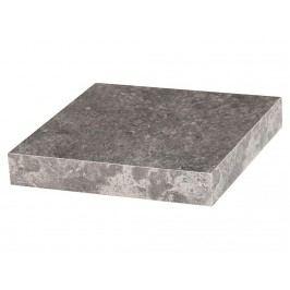 BHP BEST HOME PRODUCTS BHP Wandboard Zementoptik inkl. Wandhalterung Breite 23,5cm B421408-34