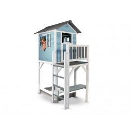 SUNNY Spielhaus Lodge inkl. Sandkasten Caribean Blue XXL Plus C050.012.01