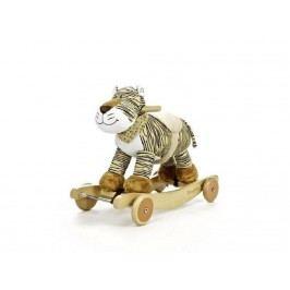 TEDDYKOMPANIET® Schaukeltier Diinglisar Wild Tiger mit Musik 452154