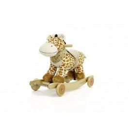 TEDDYKOMPANIET® Schaukeltier Diinglisar Wild Giraffe mit Musik 452153