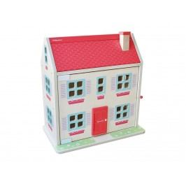 INDIGO JAMM® Holz Puppenhaus mit 2 Figuren und Möbeln CIJ2022