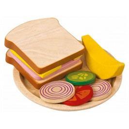 PLAN TOYS PlanToys Sandwich Mahlzeit aus Holz 4003464