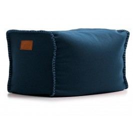 LAZY LIFE PARIS Bel Air Pouf Hocker Blau 296-BB0230