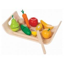 PLAN TOYS PlanToys Obst & Gemüse inkl. Schneidebrett 4003416