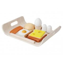 PLAN TOYS PlanToys Frühstücks Menü inkl. Tablett 4003415