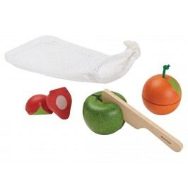 PLAN TOYS PlanToys Früchte-Set inkl. Beutel 4001761