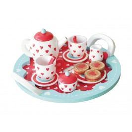INDIGO JAMM® Hearts Tee-set Tea Party KIJ10055