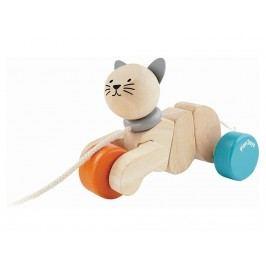 PLAN TOYS PlanToys Nachziehtier Katze 4005435
