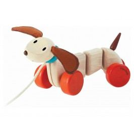 PLAN TOYS PlanToys Ziehtier Happy Puppy 4005101
