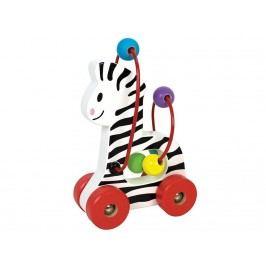 JABADABADO JaBa WooD Zebra mit Kugellabyrinth W7054