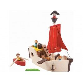 PLAN TOYS PlanToys Piratenschiff 4006105