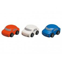 PLAN TOYS PlanToys Familienauto 3er-Set 4006071