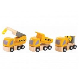 PLAN TOYS PlanToys Straßenwartung 3er-Set 4006047