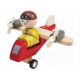PLAN TOYS PlanToys Propellerflugzeug mit Pilot 4006046