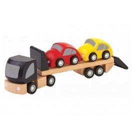 PLAN TOYS PlanToys Autotransporter mit 2 Autos 4006043