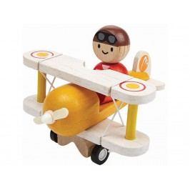 PLAN TOYS PlanToys Flugzeug mit Pilot 4006030