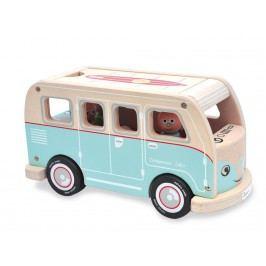 INDIGO JAMM® Holz Campingbus mit 4 Figuren Colin´s Camper Van IIJ8031