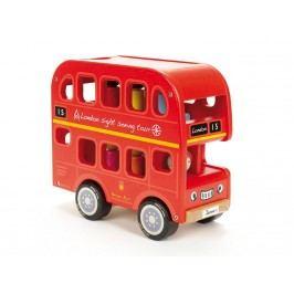 INDIGO JAMM® Holz Doppledecker Bus Bernies Number Bus IIJ8011