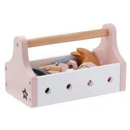 KIDS CONCEPT Werkzeugkiste Rosa/Weiß 1000095
